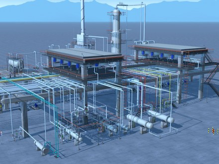 Refinery-Distillation-Unit-3D-PSR-Interactive-Elearning